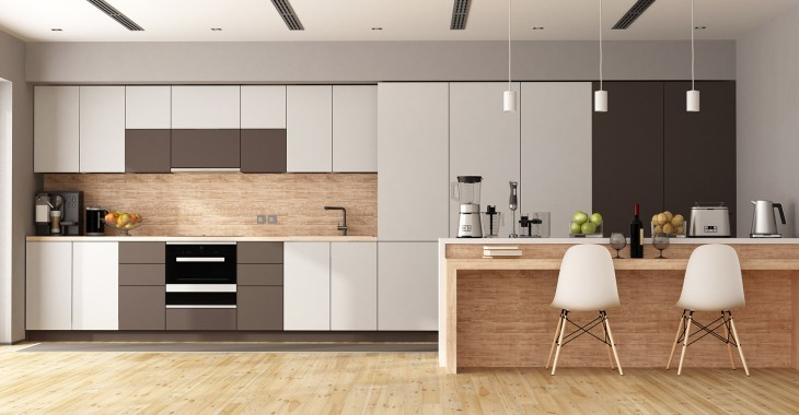 Interior designs, modular kitchen