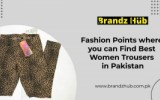 Women trousers in Pakistan