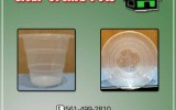 Clear orchid pots for sale.