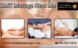 RMT Massage near me in Toronto city by Professional therapist.